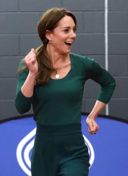Kate Middleton s'éclate au stade olympique de Londres