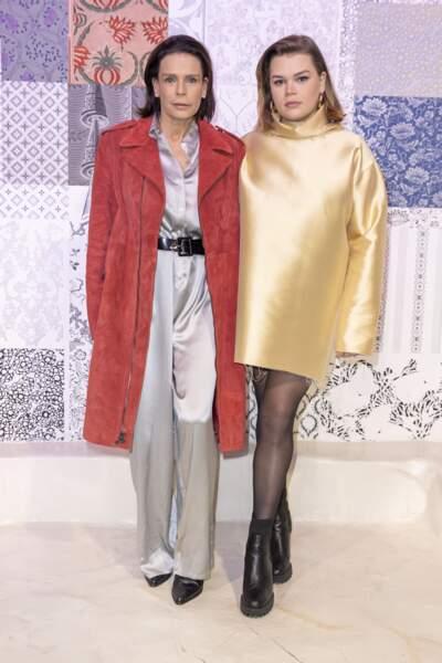 Camille Gottlieb et Stéphanie de Monaco sont les premiers soutiens de Pauline Ducruet.