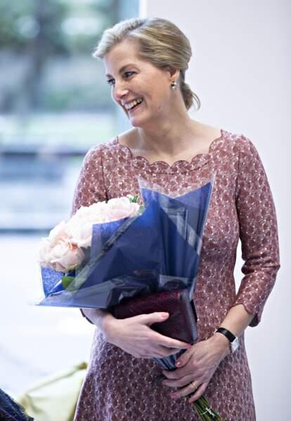 Sophie de Wessex était de passage à la Central School of Ballet, de Londres ce jeudi 27 février