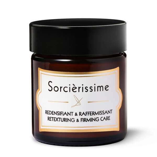 La crème Sorcièrissime de Delbôve marie vertus réparatrice et antioxydantes pour un effet repulpant et lissant. Exactement ce que l'on cherche à 40 ans.