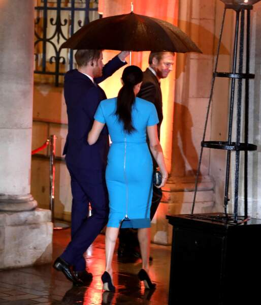 Meghan Markle a su attirer les regards lors de son retour officiel à Londres