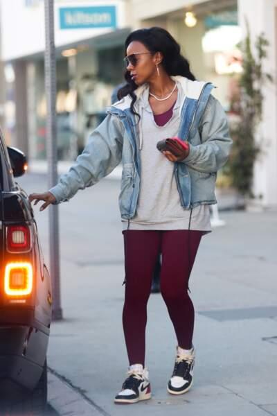 Kelly Rowland va faire du shopping avec sa paire de Air Jordan One High