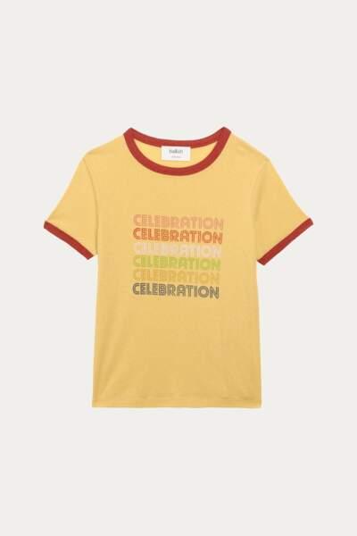 T-shirt en coton, 70 € Ba&sh.
