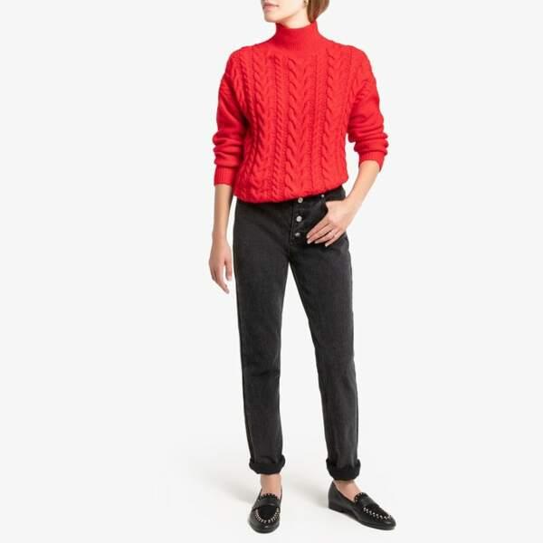 On copie avec ce modèle flamboyant, La Redoute, 39,99€