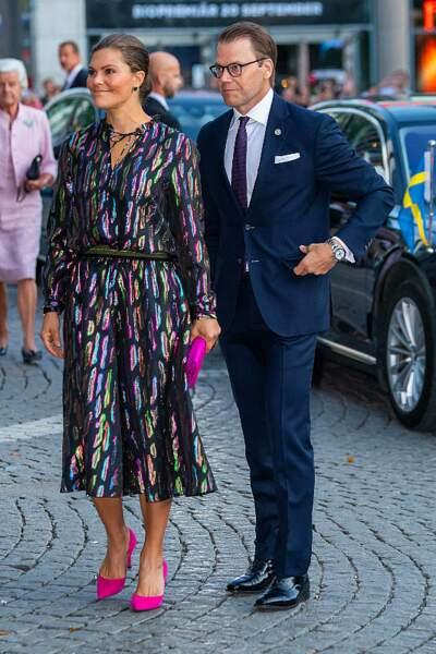 On s'inspire : les escarpins roses bonbon de la princesse Victoria de Suède