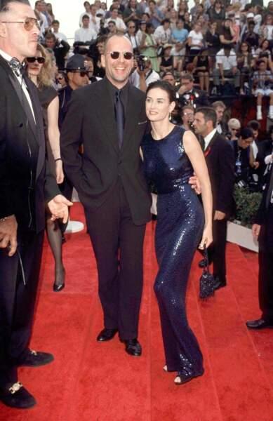 Bruce Willis et Demi Moore, couple phare des années 90, restent très amis après leur divorce en 1998