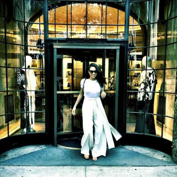 Meghan Markle, resplendissante à New York en 2015