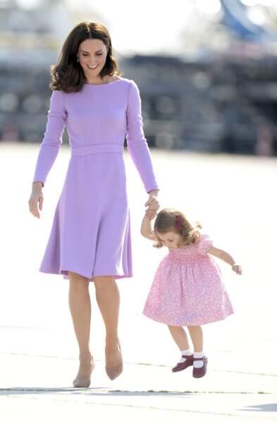 C'est d'ailleurs loin d'être la première fois que mère et fille sont accordées.