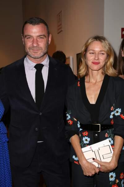 Naomi Watts et son ex-mari Liev Schreiber