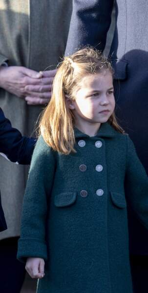 En décembre 2019, lors de la messe de Noël, la jeune princesse portait son manteau fétiche.