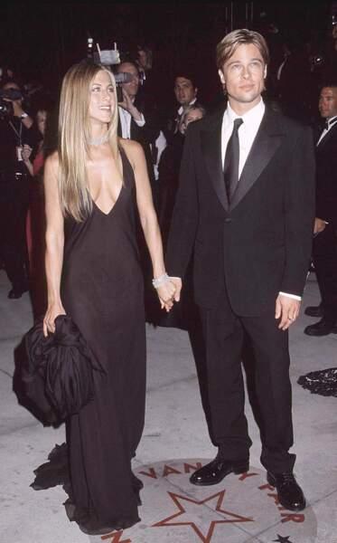 Brad Pitt et Jennifer Aniston se sont récemment montrés très proches, quinze ans après leur divorce