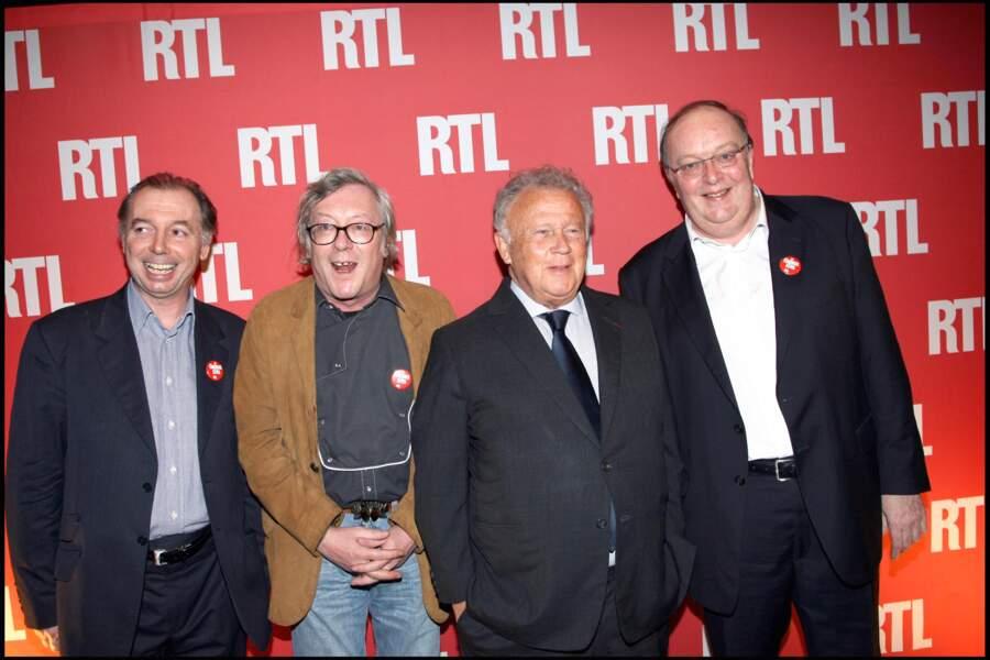 Jean-Jacques Peroni (2ème gauche sur la photo), sociétaire depuis 1998
