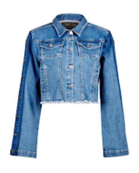 Veste en jean, Anne Fontaine, 395 €.