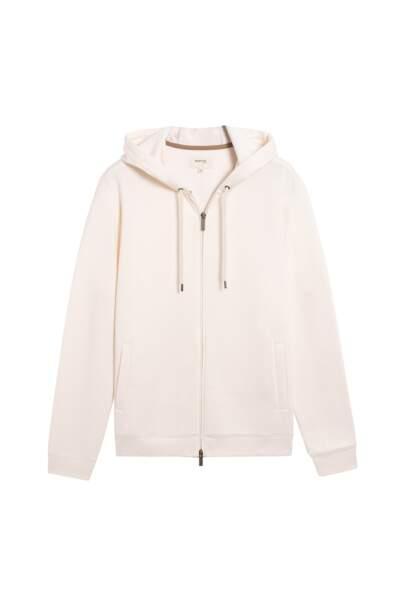 Sweat à capuche et zip, 69€95, BURTON