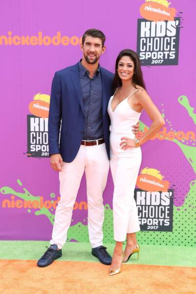 Nicole Johnson et Michael Phelps