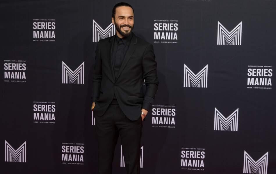 """Assaad Bouab, au casting de la série """"Dix pour cent"""" depuis 2017"""