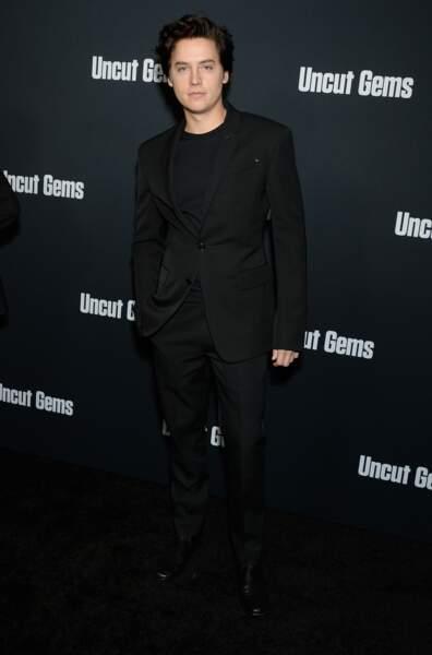 """Cole Sprouse à la première du film """"Uncut Gems"""" à Los Angeles en 2019"""