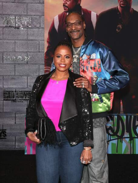 Shante Taylor et Snoop Dogg