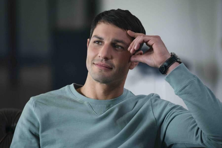 """Marc Ruchmann dans la série """"Plan Coeur"""" (Netflix)"""