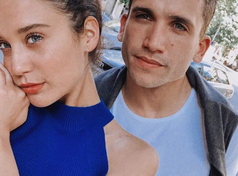 Ensemble à la ville comme à la scène, María et Jaime jouent également dans la série Elite...