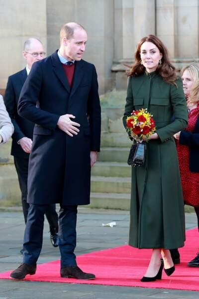Kate Middleton : en visite à la mairie de Bradford le 15 janvier 2020