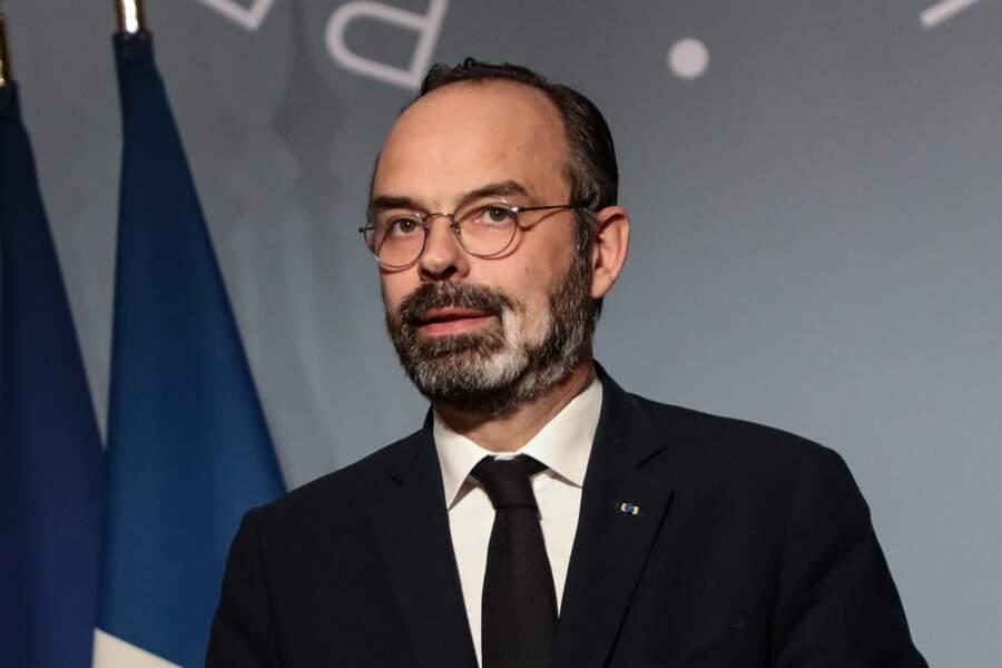Edouard Philippe pendant une conférence de presse le 18 mars 2020, au début du confinement