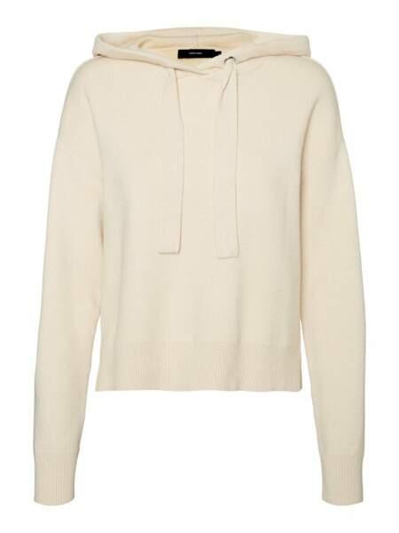 Hoodie beige, 44,99€, Sarenza vero Moda