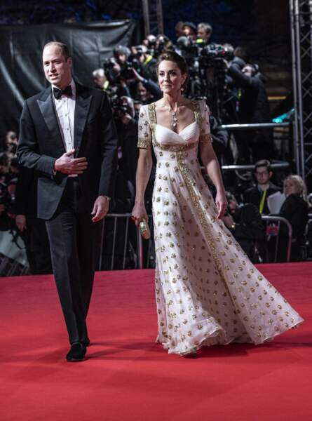 Kate Middleton : avec William au BAFTA le 2 février 2020