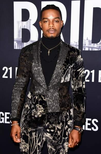 """Stephan James à la première du film """"21 Bridges"""" à Los Angeles, en 2019"""