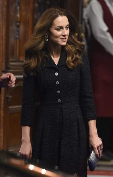 Kate Middleton : au théâtre Noël Coward le 25 février 2020