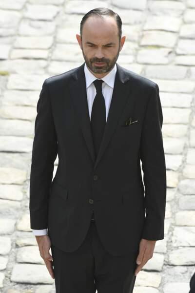 Edouard Philippe lors de l'hommage à Simone Veil le 5 juillet 2017.