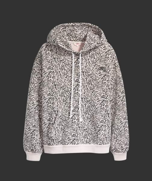 Sweat à Capuche 100% coton, 75€,  Levi's® sur levi.com