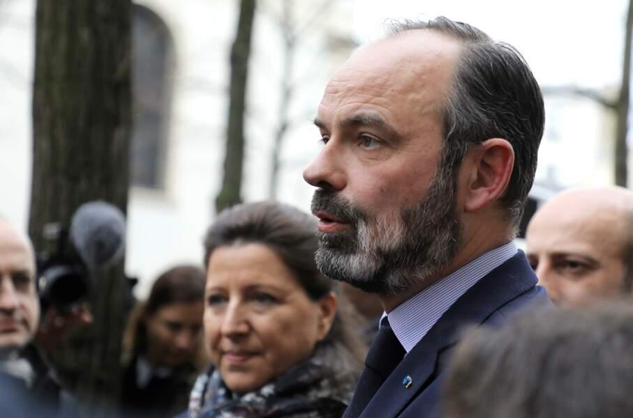 Pendant la campagne des municipales, le 10 mars, avec Agnès Buzyn, avant que celle-ci ne fâche vraiment Edouard Philippe avec ses déclarations