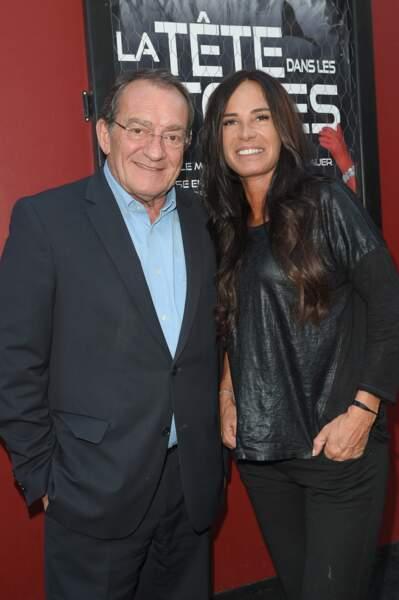 Au côté de sa femme Nathalie Marquay, Jean-Pierre Pernaut a toujours le sourire