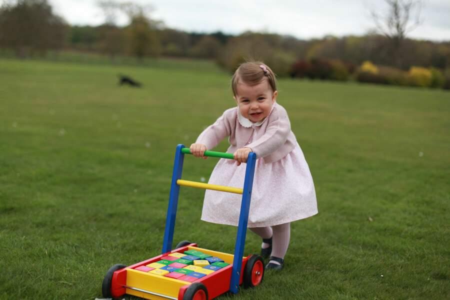 La princesse Charlotte y a célébré son premier anniversaire