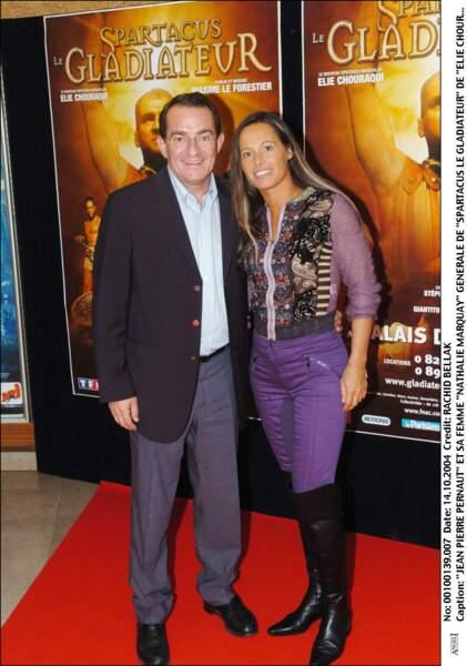 Jean-Pierre Pernaut et Nathalie Marquay ont l'habitude de s'afficher ensemble lors d'événements publics