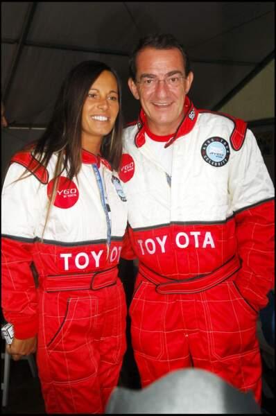 Jean-Pierre Pernaut et Nathalie Marquay ont participé ensemble à une course organisée au Parc de Saint-Cloud en 2005