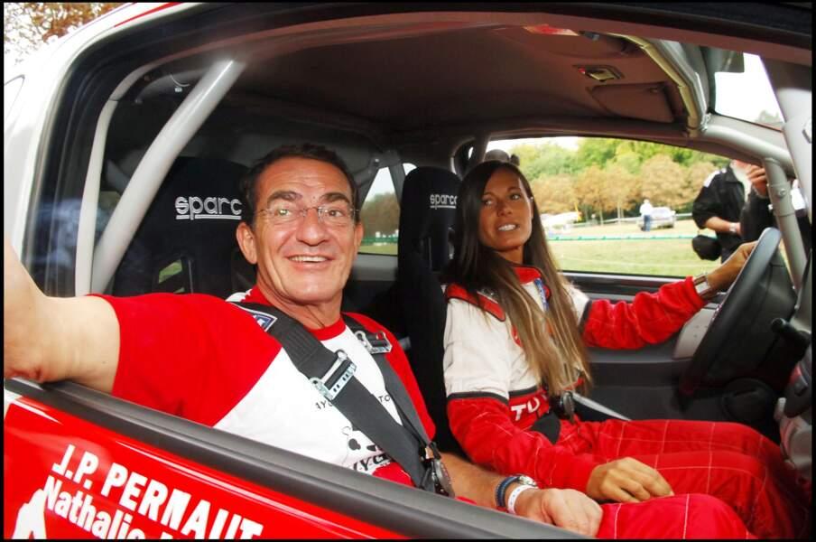 Jean-Pierre Pernaut et Nathalie Marquay sont tous les deux passionnés de course automobile