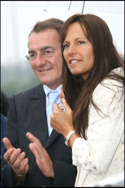 Tous les deux passionnés, Jean-Pierre Pernaut et Nathalie Marquay aiment se rendre ensemble à des compétitions sportives