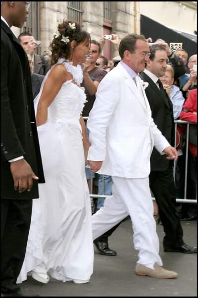 Jean-Pierre Pernaut et Nathalie Marquay se sont mariés en juin 2007