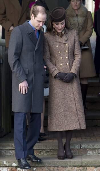 La duchesse de Cambrige affiche un nouveau Baby Bump : elle est enceinte de leur deuxième enfant.