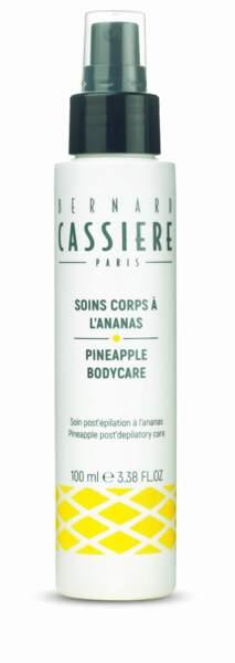 Soin post-épilation à l'ananas, Bernard Cassière,