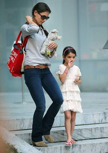Katie Holmes et Suri Cruise vivent désormais séparés de Tom Cruise.