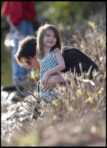 Tom Cruise passe au maximum de temp avec sa fille Suri Cruise.