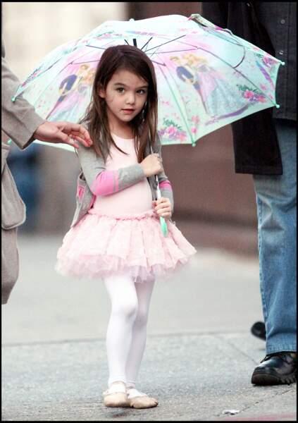 Suri Cruise habillée en danseuse.