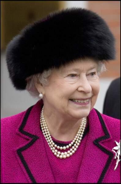 La reine Elizabeth II en visite en Lettonie en 2006
