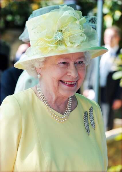 La reine Elizabeth II en visite à Oman en 2010