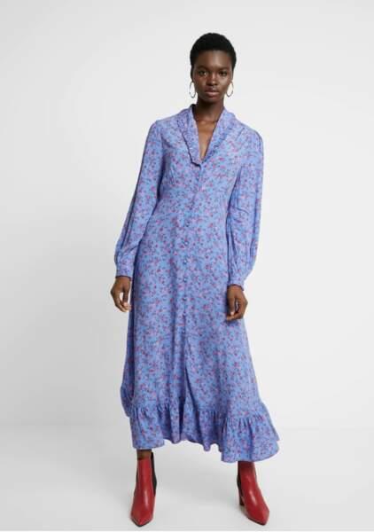 La robe de Kate Middleton est signée Ghost Fashion (modèle Anouk), en rupture de stock.