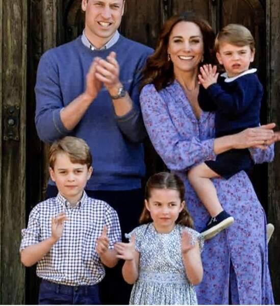 Kate Middleton en robe à fleurs ultra tendance pour une surprise vidéo à la BBC.