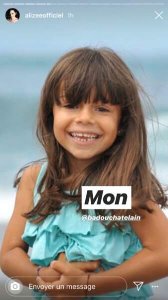 Annily est la fille d'Alizée et du producteur Jérémy Chatelain.